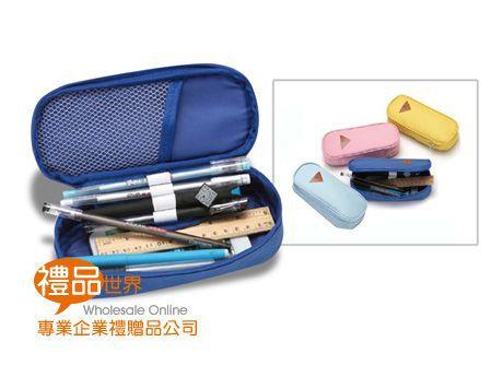簡約素色帆布筆袋