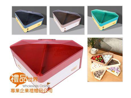 鑽石造型分層糖果盒