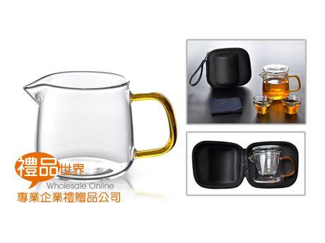 旅行玻璃茶具組