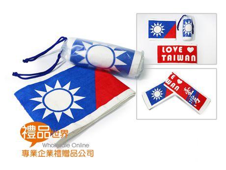 國旗運動毛巾22x110cm