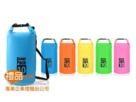 實用防水單肩筒包(10L)