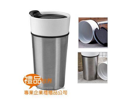 亮彩陶瓷咖啡杯450ml