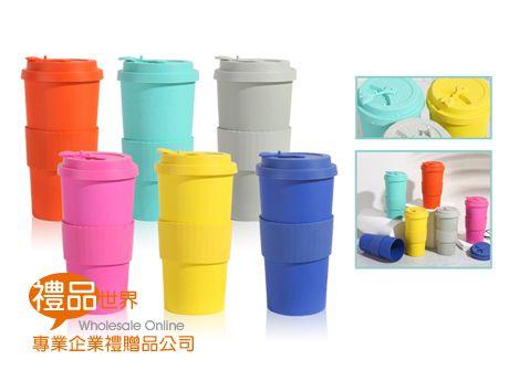 環保竹纖維咖啡杯500ml