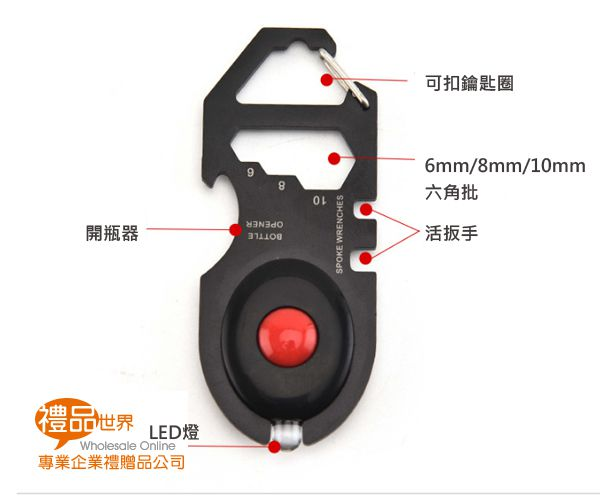 LED燈鎖圈工具卡