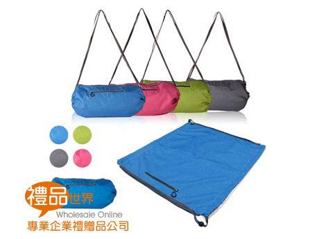 二合一側背包野餐墊