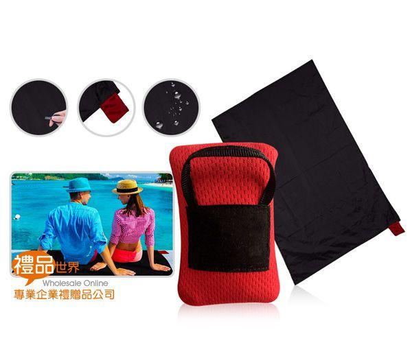 口袋型便攜野餐墊
