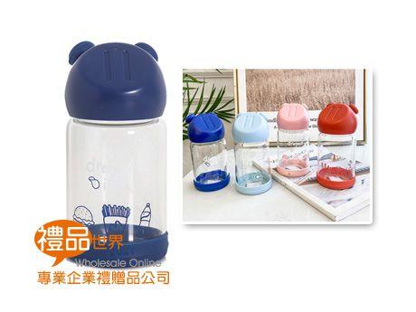 豬鼻子造型玻璃瓶280ml