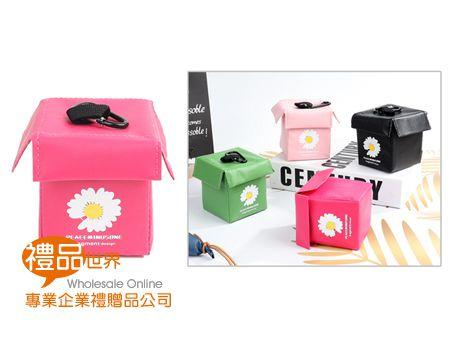 立體外送箱造型零錢包