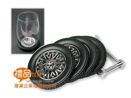 輪胎造型杯墊