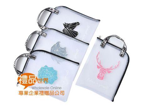 緹花織帶L型文件提袋(A4)