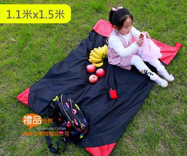 口袋提繩野餐墊70x110cm