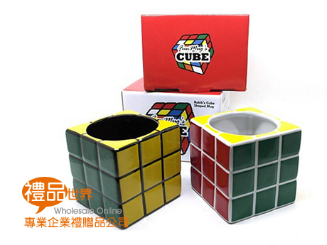魔術方塊造型馬克杯300ml
