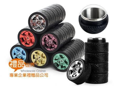 輪胎杯造型隨手杯320ml