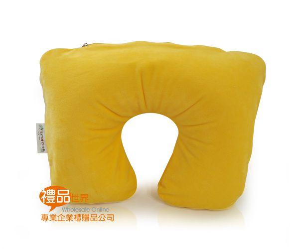 簡約旅行充氣頸枕