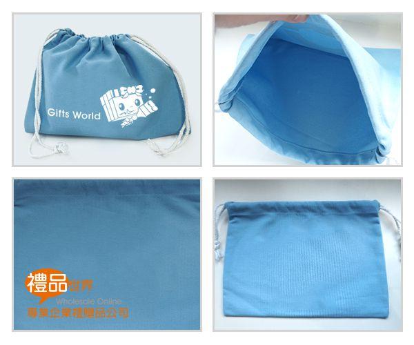 客製化帆布束口袋23.5x32.5cm