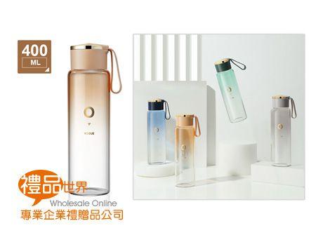 時尚漸層玻璃瓶400ml