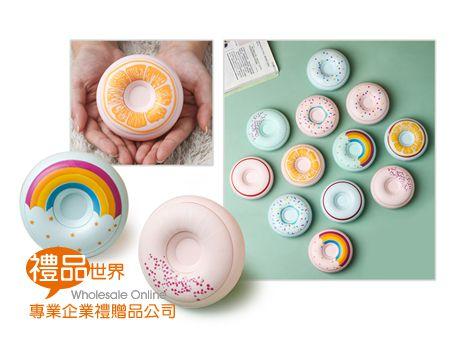 甜甜圈造型暖手寶