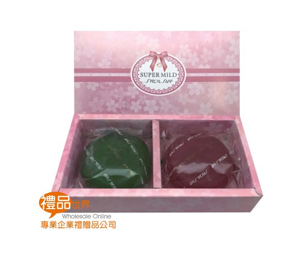 SUPER MILD精油皂禮盒2入組