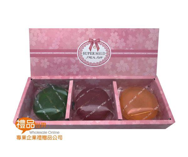 SUPER MILD精油皂禮盒3入組