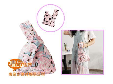 花漾棉布手提包