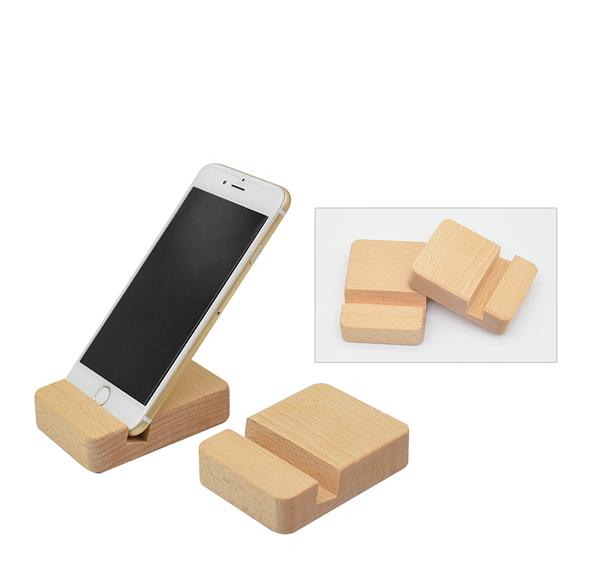 原木質感手機支架