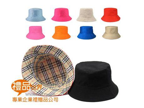 經典素色漁夫帽(滌棉)
