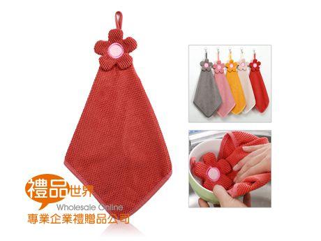 小花造型擦手巾