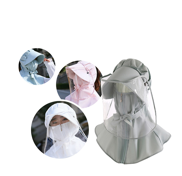 防疫防曬遮陽帽