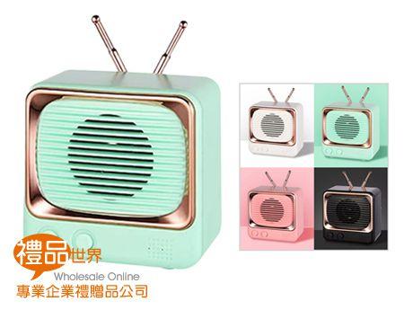 復古電視機藍牙音箱