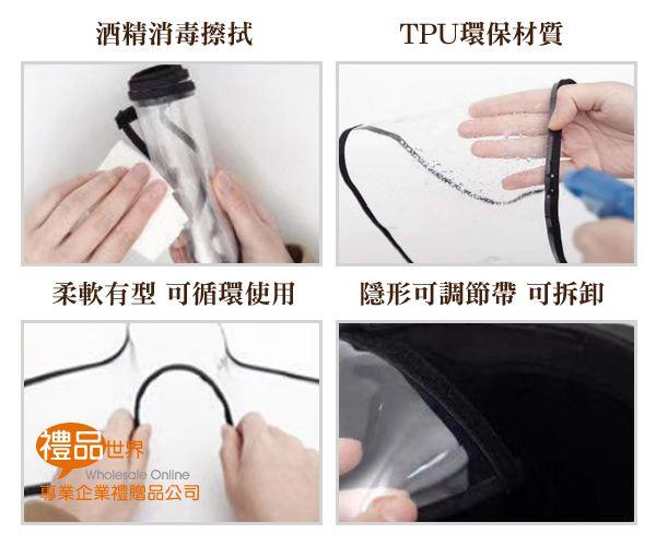 環保TPU防護面罩