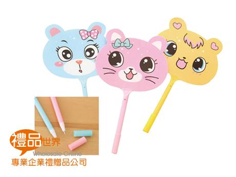 動物造型風扇筆