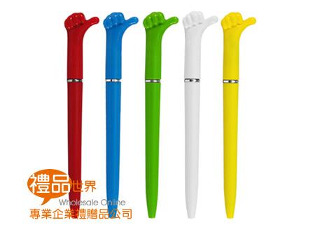 手勢造型中油筆
