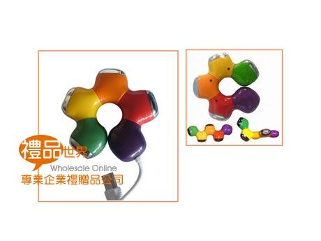 彩色甜甜圈HUB集線器