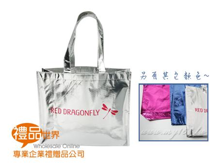 客製化亮彩鐳射膜購物袋