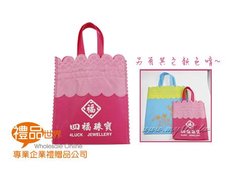古典花紋購物袋
