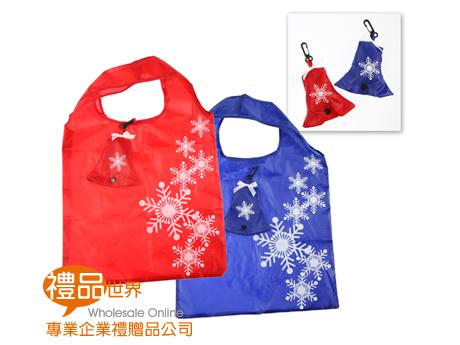 客製化雪花鈴鐺折疊袋