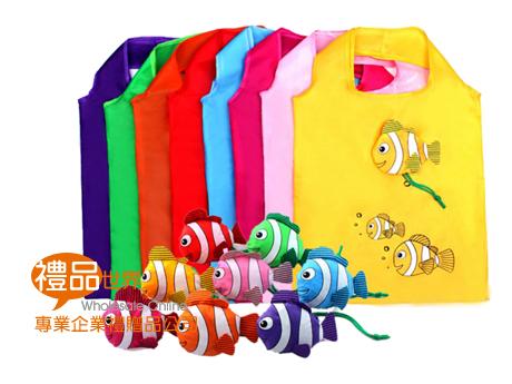 客製化小丑魚折疊購物袋
