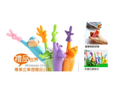 動物家族造型筆