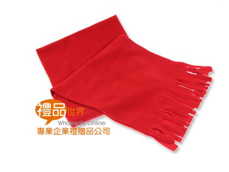 保暖素色圍巾