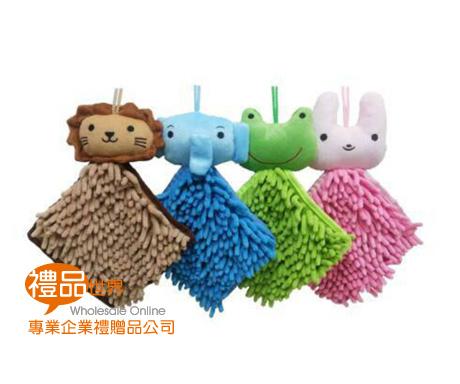 動物方型擦手巾