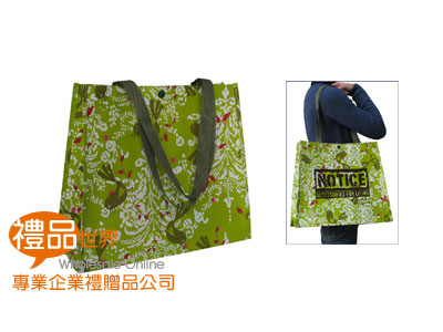 客製化防潑水購物袋34x40x15cm