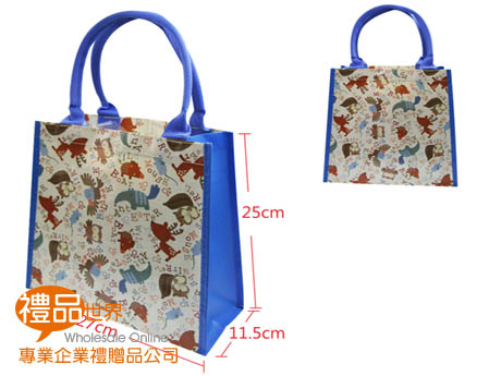 防潑水購物袋27x11.5x25cm