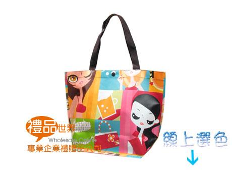 防潑水購物袋31.5x41x24.5cm