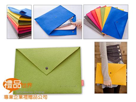 客製化毛氈布文件包(A4)