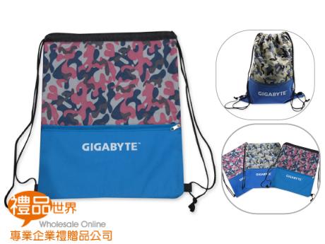 客製化迷彩束口背包