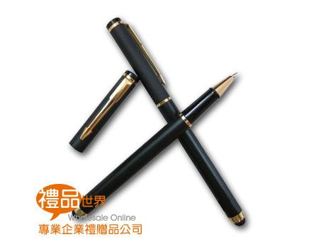 經典黑觸控原子筆