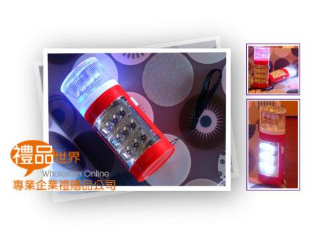 炫彩9LED露營燈手電筒