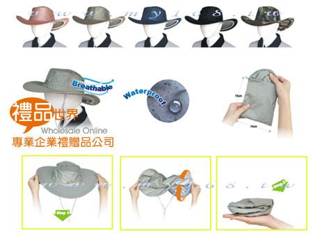 便利隨身牛仔帽(抗UV)