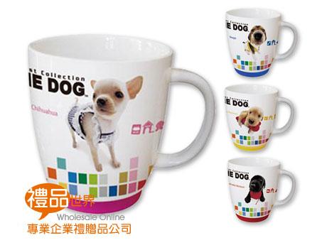 可愛大頭狗防滑馬克杯