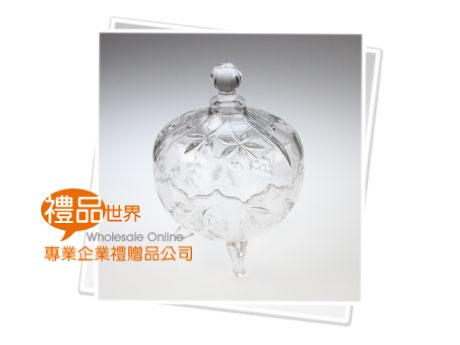 典雅玻璃糖果罐
